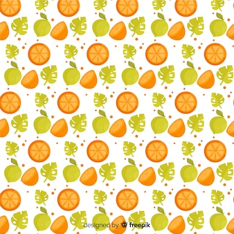 Motif de fruits tropicaux
