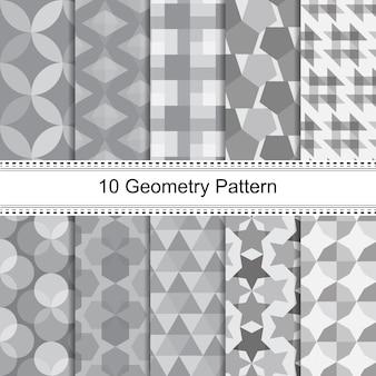 Motif de géométrie