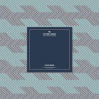 Motif géométrique abstrait de conception ton bleu.