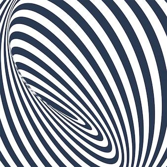 Motif géométrique abstrait avec lignes en zigzag