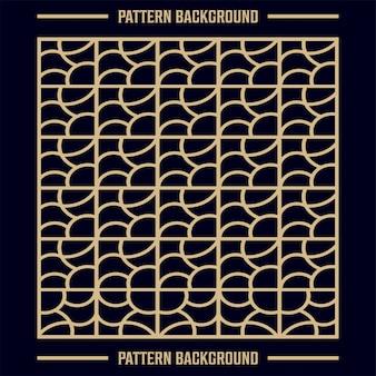Motif géométrique abstrait avec des lignes