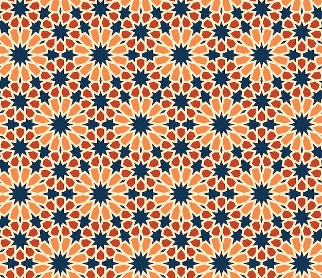 Motif géométrique abstrait motif sans soudure