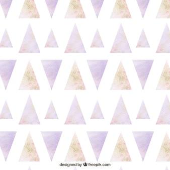 Motif géométrique aquarelle