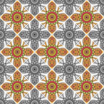 Motif géométrique décoratif de tuile