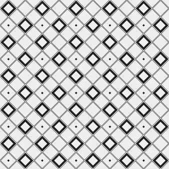 Motif géométrique faite avec des carrés décrites