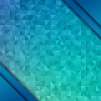 Motif géométrique. fond abstrait. polygone low poly