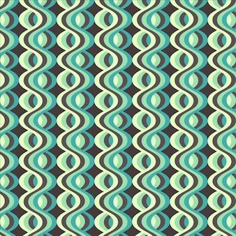 Motif géométrique groovy