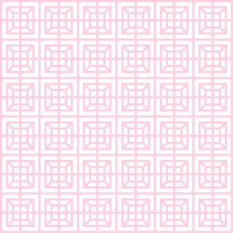 Motif géométrique, ligne mince sans soudure de texture simple fond carré et couleur rose clair