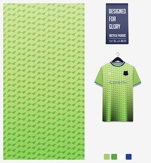 Motif géométrique pour maillot de football