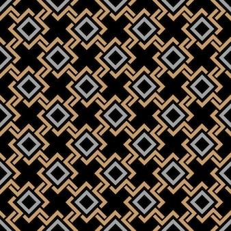 Motif géométrique sans couture ethnique dans le style celtique