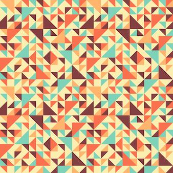 Motif géométrique sans couture avec triangle.