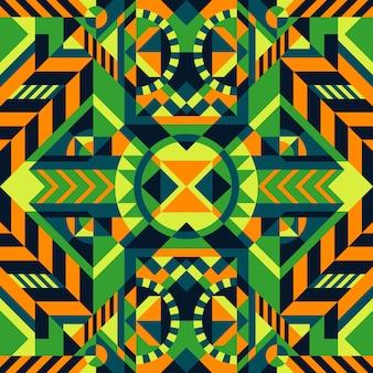 Motif géométrique sans soudure ethnique