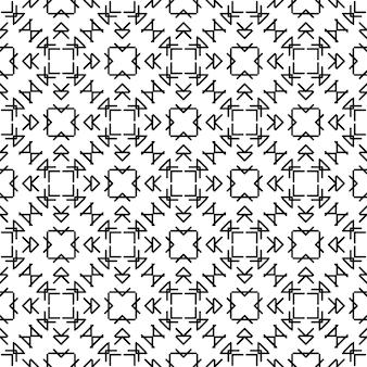 Motif géométrique sans soudure. illustration vectorielle. symbole décoratif. bannière de conception de vecteur. motif graphique.