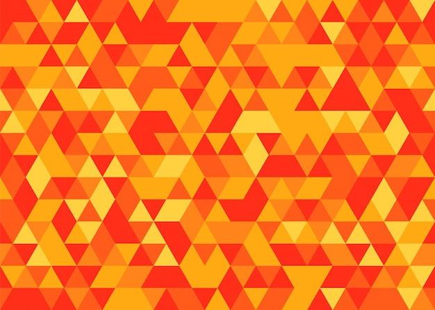 Motif géométrique sans soudure de mosaïque abstraite