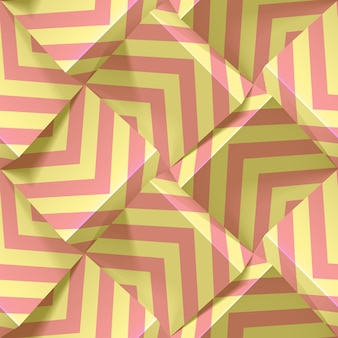 Motif géométrique transparent léger avec des bandes répétitives de couleurs pastels. modèle pour fonds d'écran, textile, tissu, papier d'emballage, arrière-plans. texture 3d réaliste abstraite.