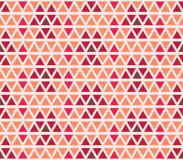 Motif géométrique triangle sans soudure. ornement rétro pour textile et impression.