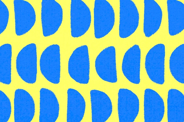 Motif géométrique, vecteur de fond vintage textile en jaune