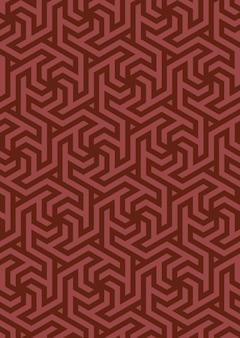 Motif géométrique de vecteur