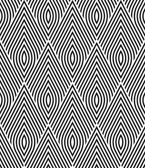 Motif de grille sans couture avec des triangles géométriques répétitifs.