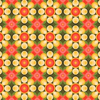 Motif groovy de formes géométriques