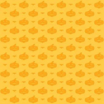 Motif de halloween citrouille