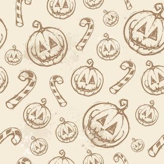 Motif d'halloween