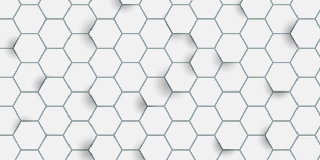 Motif hexagonal