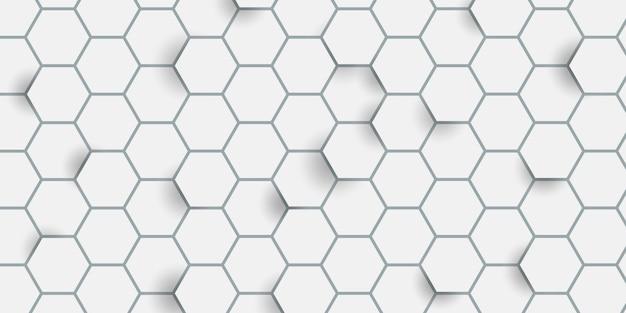 Motif Hexagonal Vecteur gratuit