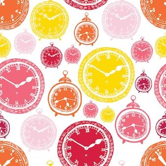 Motif d'horloge