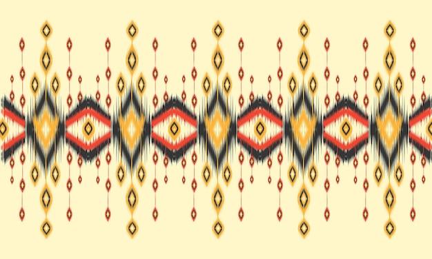 Motif ikat ethnique géométrique conception traditionnelle orientale pour le fond.
