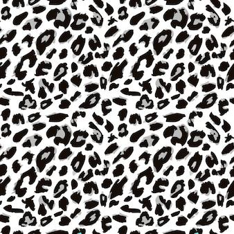 Motif imprimé peau de léopard motif fourrure animale sans couture