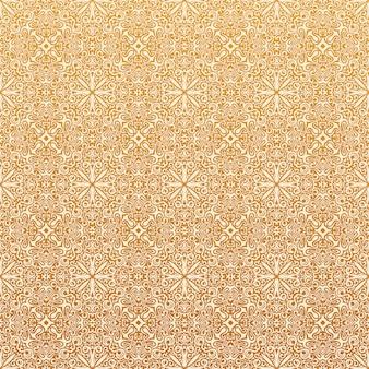 Motif de l'islam sans soudure et fond floral