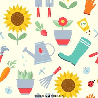 Motif de jardinage