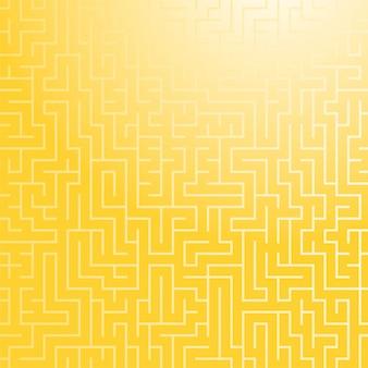 Motif de labyrinthe de couleur carrée.