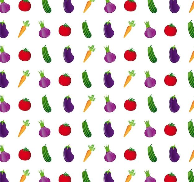 Motif de légumes