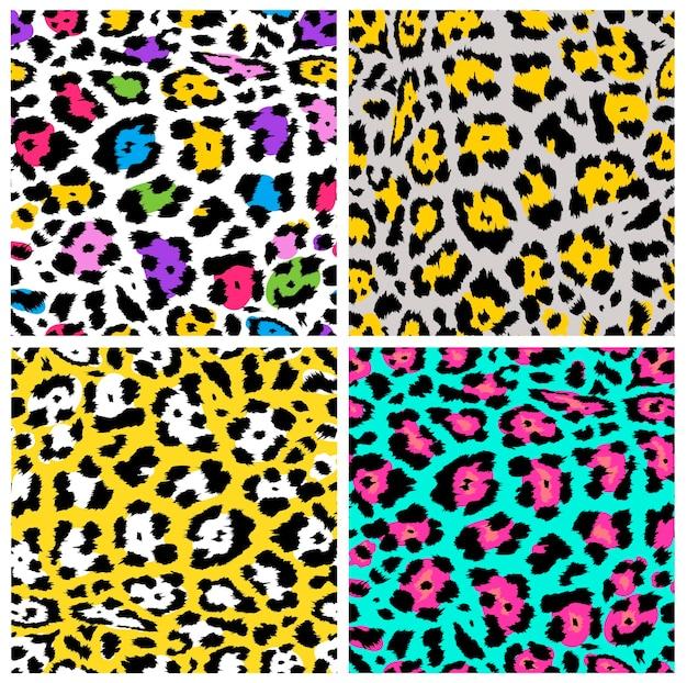 Motif léopard, textile ou papier peint