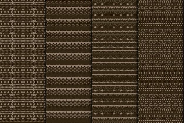 Motif de lignes abstraites verticales