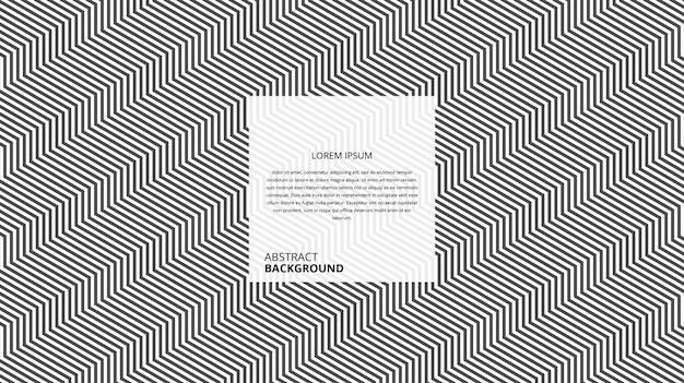 Motif de lignes de forme carrée diagonale abstraite