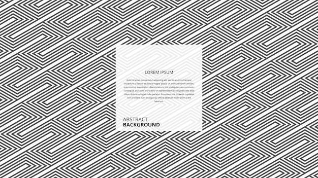 Motif de lignes de forme de parallélogramme diagonal décoratif abstrait