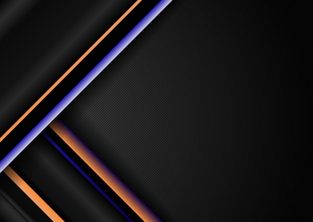 Motif de lignes géométriques diagonales à rayures abstraites