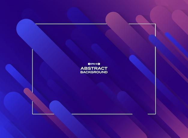 Motif de lignes géométriques fluide violet violet cyan