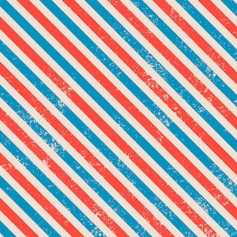 Motif de lignes vintage rétro