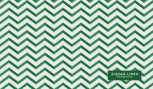 Motif de lignes en zigzag