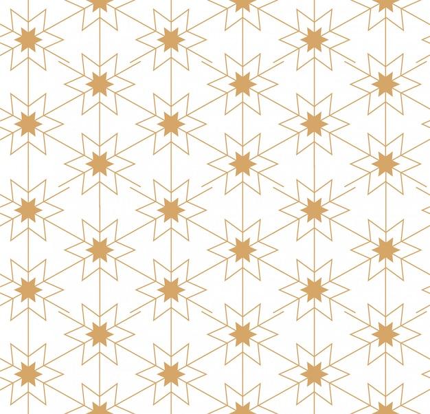 Motif linéaire géométrique