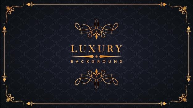 Motif de luxe fond ornemental