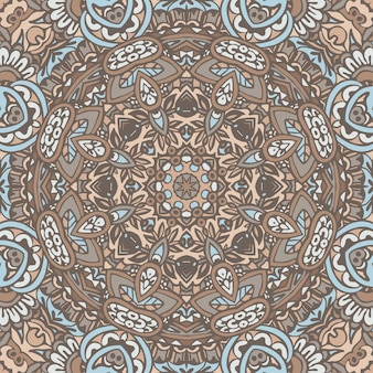 Motif de mandala géométrique ethnique