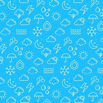 Motif météo et fond