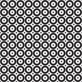 Motif monochrome dans le style op art