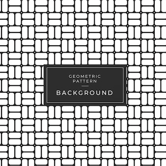 Motif monochrome géométrique divers. noir et blanc