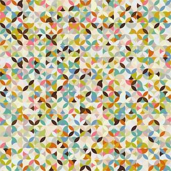 Motif de mosaïque abstraite